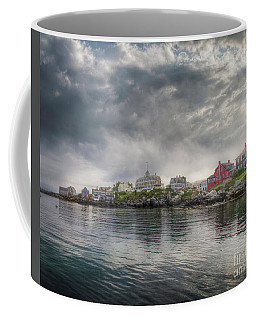 Monhegan Harbor View Coffee Mug
