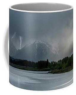 Coffee Mug featuring the photograph The Warning by Sandra Bronstein