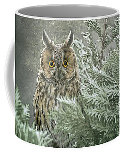 The Watcher In The Mist Coffee Mug