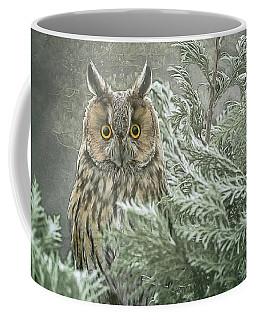 The Watcher In The Mist Coffee Mug