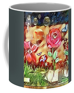 Coffee Mug featuring the digital art The Watcher  by Jennifer Page