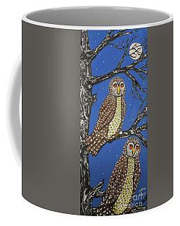 The Watchers Of The Night Coffee Mug