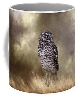 Coffee Mug featuring the photograph The Watchful Eye by Kim Hojnacki