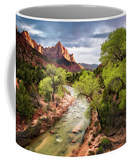 The Watchman Coffee Mug by Eduard Moldoveanu