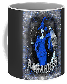 The Water Bearer Aquarius Spirit Coffee Mug