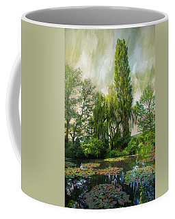 Coffee Mug featuring the photograph The Water Garden by John Rivera