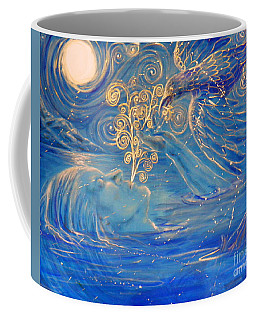 The Water Is Deep Coffee Mug