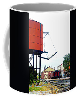 Coffee Mug featuring the photograph The Water Tower by Paul W Faust - Impressions of Light