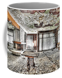Coffee Mug featuring the photograph The Waterfall Hotel - L'hotel Della Cascata by Enrico Pelos