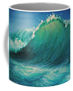 The Wave By Alan Zawacki Coffee Mug