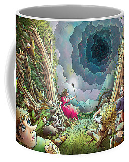 The Wave Of Space And Time Coffee Mug