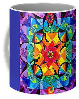 The Way - Arcturian Blue Ray Grid Coffee Mug