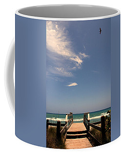 The Way Out To The Beach Coffee Mug by Susanne Van Hulst