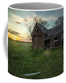 Coffee Mug featuring the photograph The Way She Goes by Aaron J Groen