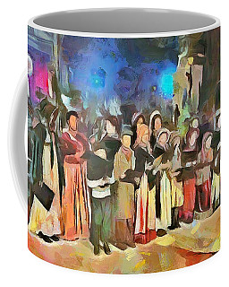 The Way We Were - Christmas Caroling Coffee Mug