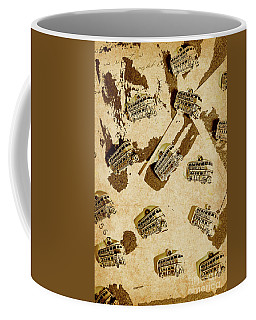 The Weathered Downtown Coffee Mug