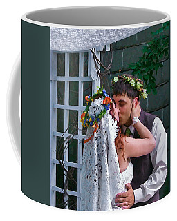 The Wedding Kiss Coffee Mug