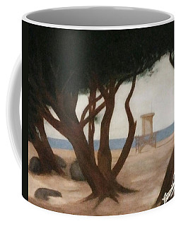 The Wedge At Peace Coffee Mug