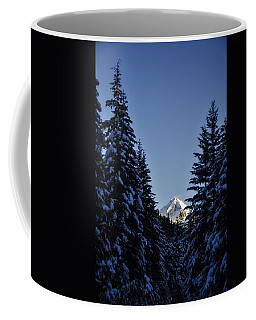 The Wedge Through The Trees Coffee Mug