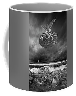 Coffee Mug featuring the photograph The Weight Is Lifted by Randall Nyhof