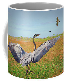 The Wetlands Dance Coffee Mug by Judy Kay