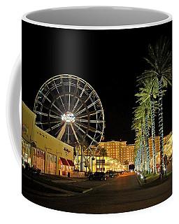 The Wharf At Night  Coffee Mug