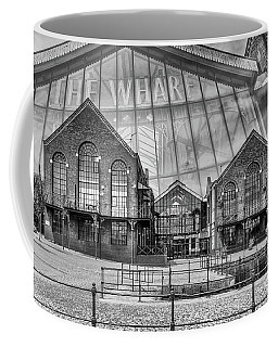 The Wharf Cardiff Bay Mono Coffee Mug
