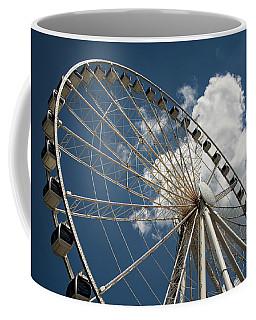 The Wheel And Sky Coffee Mug