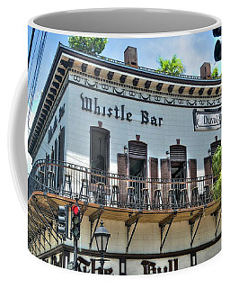 The Whistle Bar On Duval Street - Key West, Florida Coffee Mug