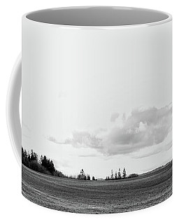 The White Barn Coffee Mug by Rebecca Cozart