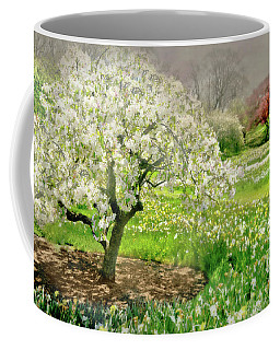 Coffee Mug featuring the photograph The White Canopy by Diana Angstadt