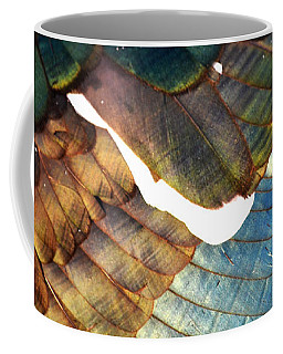 The White Feather - Iridescent Duck Coffee Mug