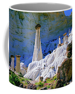 The White Hoodoos Coffee Mug