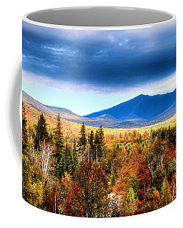 Coffee Mug featuring the photograph The White Mountains Autumn by Tom Prendergast
