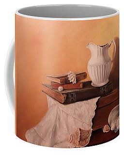 The White Pitcher Coffee Mug