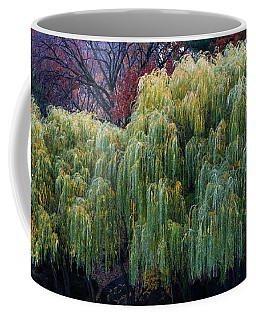The Willows Of Central Park Coffee Mug