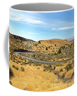 The Winding Road In Central Oregon Coffee Mug