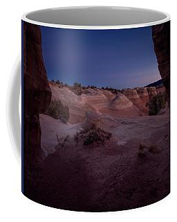 The Window In Desert Coffee Mug