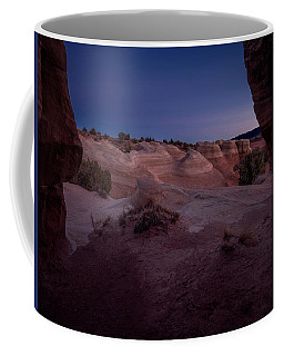 Coffee Mug featuring the photograph The Window In Desert by Edgars Erglis