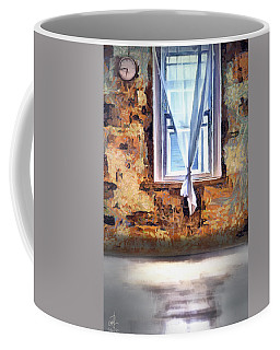 Coffee Mug featuring the digital art The Window by Pennie McCracken