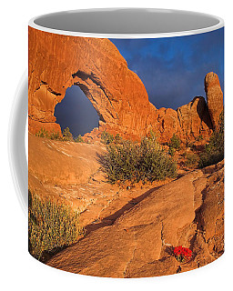 Coffee Mug featuring the photograph The Window by Steve Stuller