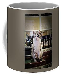 The Winery Cat Coffee Mug
