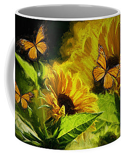 The Wings Of Transformation Coffee Mug by Tina  LeCour