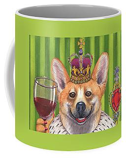 The Wining Queen Coffee Mug