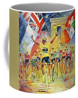 The Winner Of The Tour De France Coffee Mug