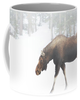 The Winter Moose Coffee Mug