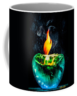The Winter Of Fire And Ice Coffee Mug