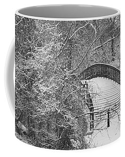 The Winter White Wedding Bridge Coffee Mug