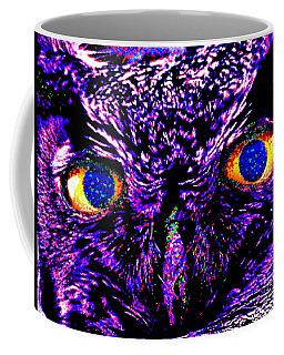 The Wise Owl Sees All Coffee Mug