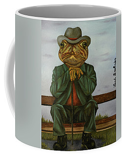 The Wise Toad Coffee Mug